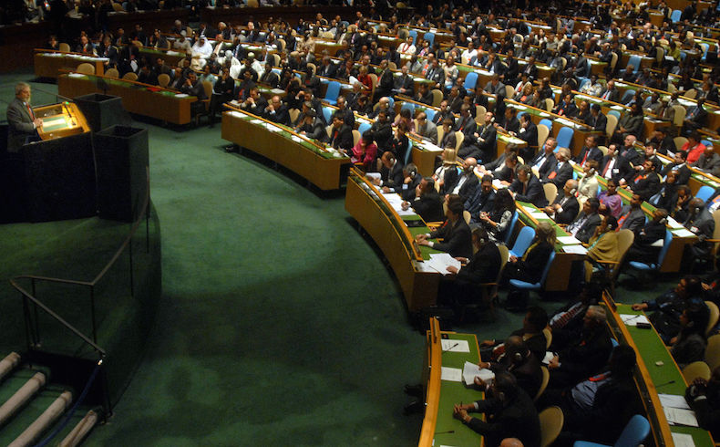 El jefe de la ONU acepta la membresía palestina en la Corte Criminal Internacional