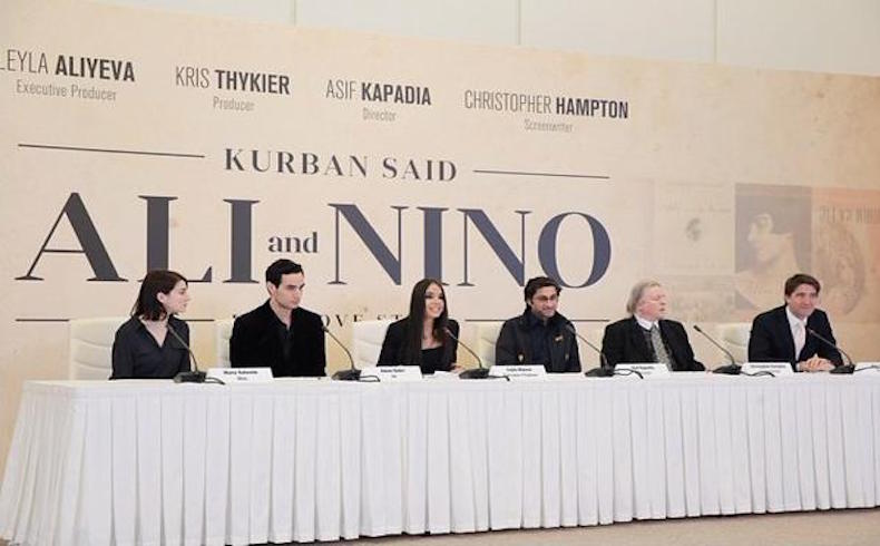 Los equipos de filmación comienzan a filmar 'Alí y Nino' en Azerbaiyán