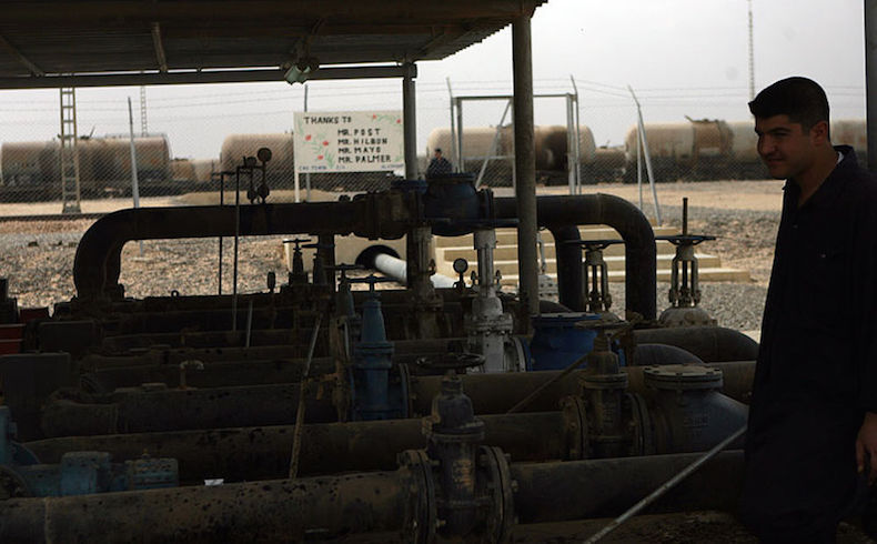 Irak: los ingresos por petróleo menguaron en un 36.9% en enero