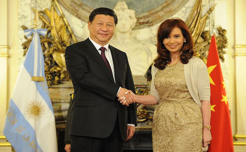 Cristina Fernández anuncia apoyo chino para construir centrales nucleares
