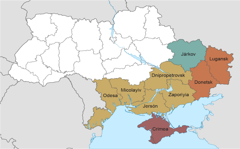 La división de Ucrania y sus efectos colaterales