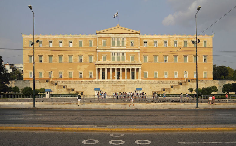 Grecia: Rostros famélicos