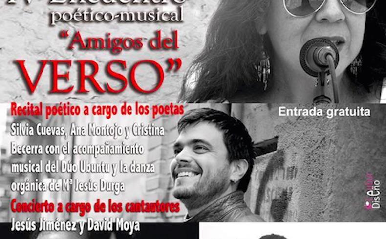 """Encuentro poético-músical """"Amigos del verso"""" en Tomelloso, fecha imprescindible en la agenda cultural de castilla la-mancha y todo España"""