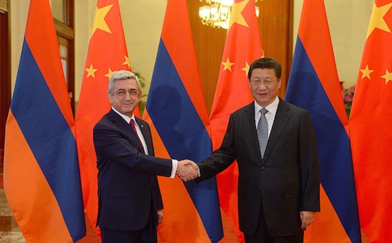 China y Armenia se comprometen a una cooperación y una amistad más cercanas