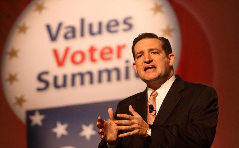 El senador estadounidense Ted Cruz anuncia su postulación presidencial