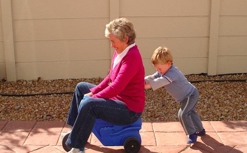 Una huella imborrable dejan los abuelos en las almas de sus nietos