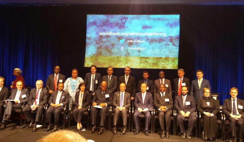 """La iniciativa """"Cero Emisiones Rutinarias para el 2030"""" organizada por el Banco Mundial se puso en marcha en Washington"""