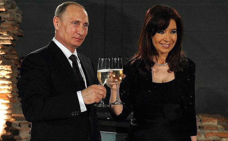 Cristina Fernández viaja a Rusia por nuevos acuerdos energéticos