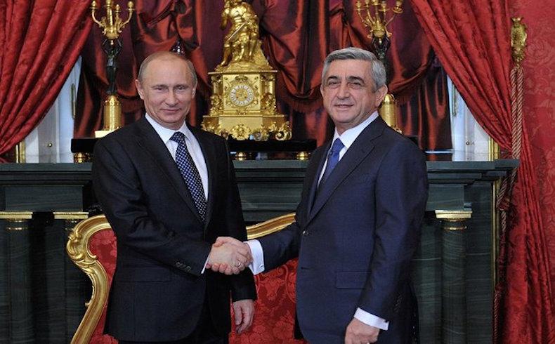 """Según Serzh Sargsyan """"Armenia coordinará su política exterior con Rusia"""""""