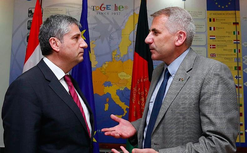 El embajador de la UE ante Rusia, oriundo de Lituania, encabezará la delegación del Día de la Victoria