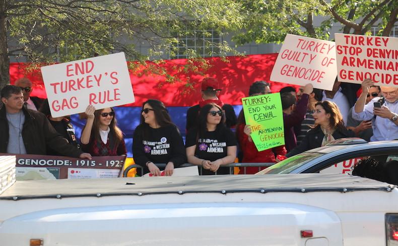 Los turcos de América del Norte protestan contra las aseveraciones de los armenios