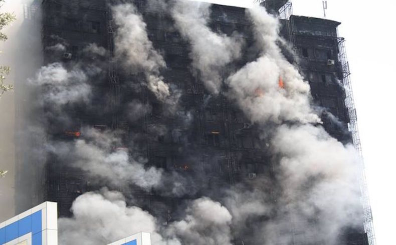 Azerbaiyán: 16 muertos, incluidos niños, tras el incendio masivo de un edificio de viviendas