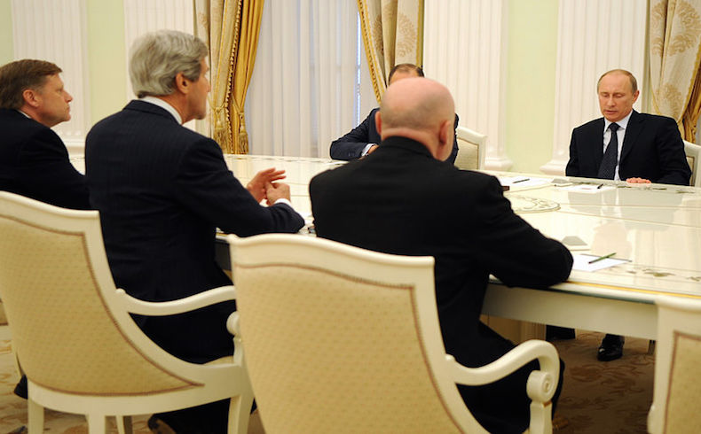 Kerry a Moscú para reunión con Putin