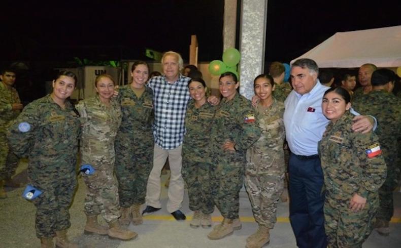 Mujeres soldados chilenas desempeñan un papel importante en misiones de paz de las Naciones Unidas