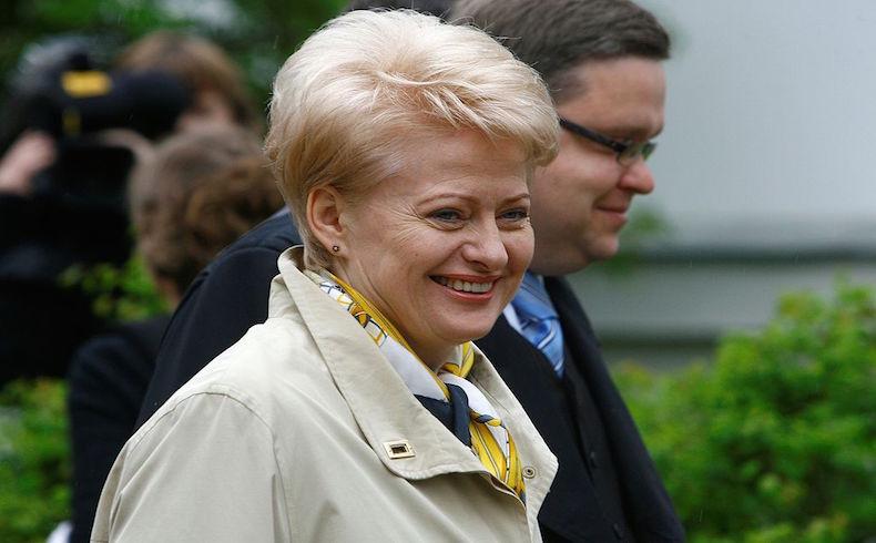 Dalia Grybauskaite es la figura pública más confiable en Lituania