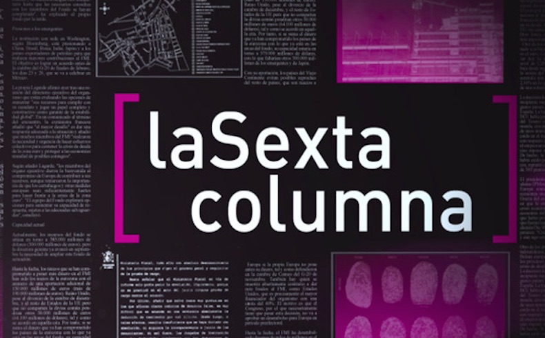 """""""La Sexta columna"""" es una herramienta ideológica manipuladora y oportunista"""