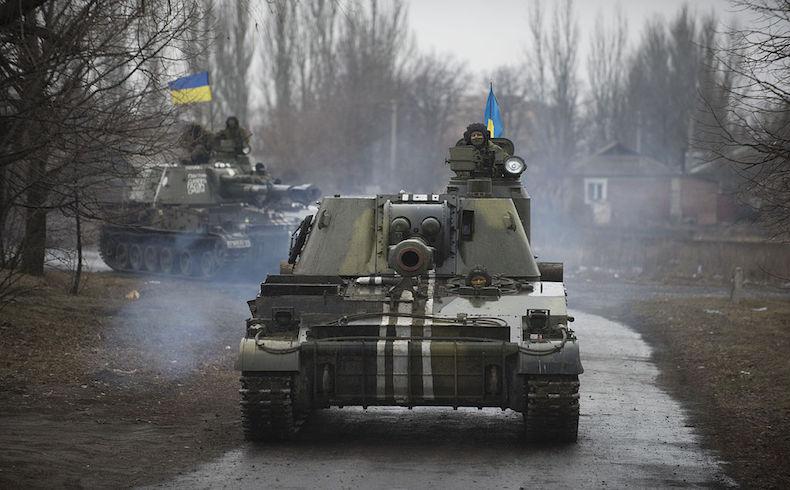 Las personas mayores enfrentan dificultades en una aldea en Ucrania
