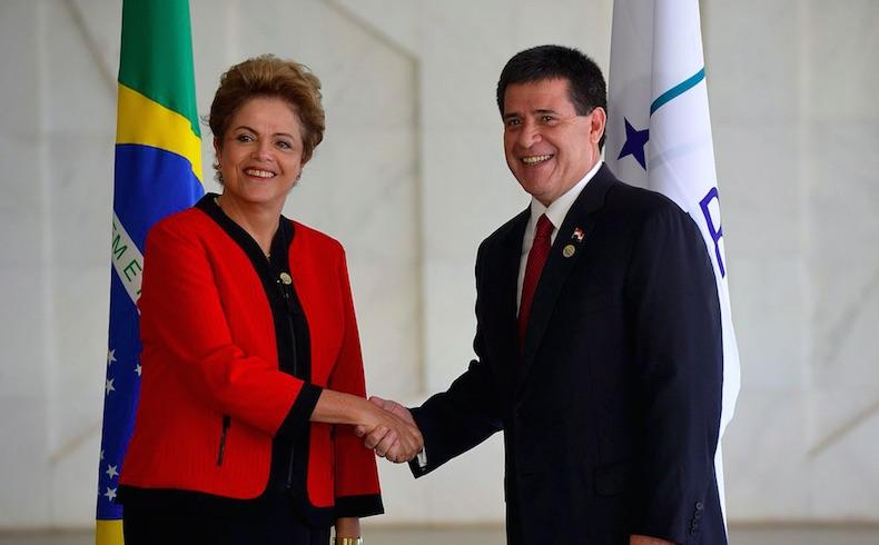 Cartes pidió un 'comercio sin trabas' al asumir presidencia de Mercosur