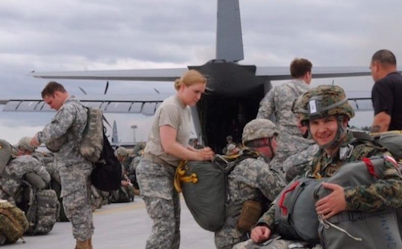 Teniente coronel chileno se suma a ejercicio militar en Fort Bragg