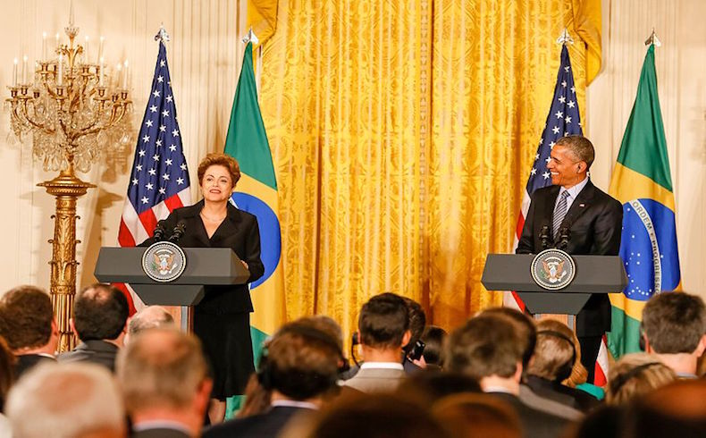 Definitivo: para Brasil crisis de 'espionaje' con EE.UU 'está superada'