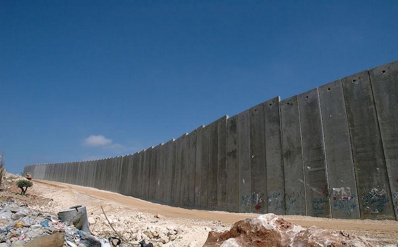 Muro de Cisjordania, uno de los hitos de la ocupación israelí.