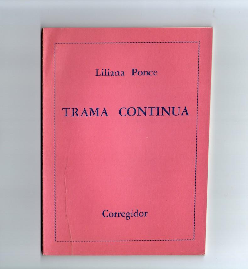 """Trama continua"""" (Primer Premio Fondo Nacional de las Artes, Corregidor, Buenos Aires, 1976)"""
