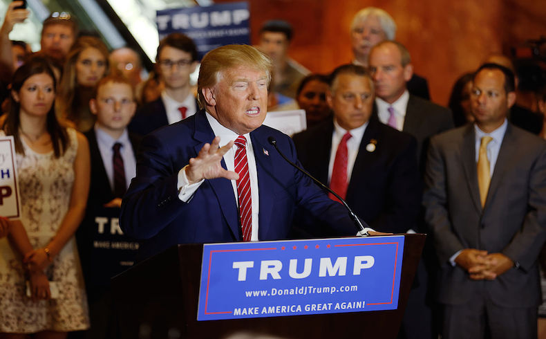 Donald Trump y el White Power