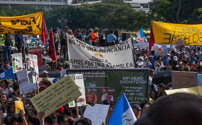 """Una lectura independiente: El antes ydespués""""Elecciones 2015"""". Guatemala sin gloria alguna"""