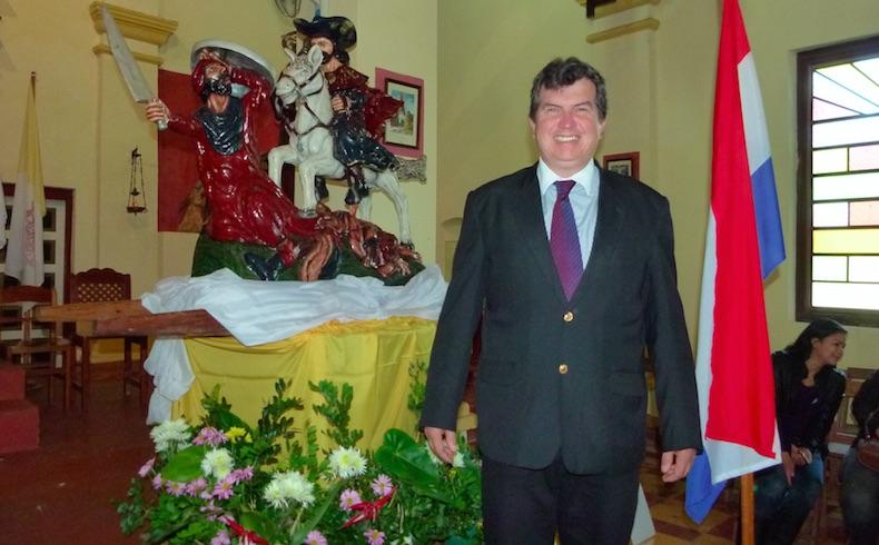 Paraguay: Ignacio Larré, candidato de Santiago, Misiones