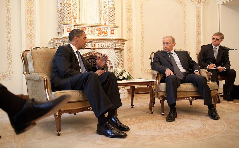 Putin y el tablero sirio