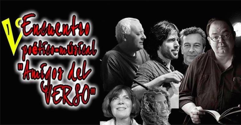 """V Encuentro Poético-Musical """"Amigos del Verso"""", referencia Poética en España"""