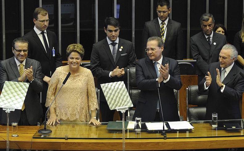 """Rousseff acusa a Temer: """"cayeron las máscaras de los golpistas"""""""