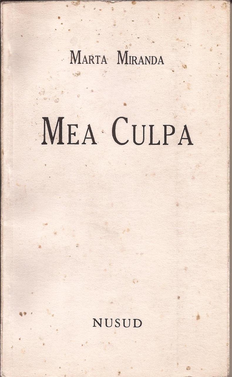 """""""Mea culpa"""" (1991)"""