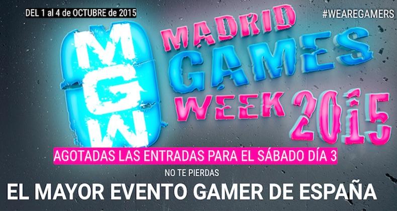 """Ante la inminente desaparición de las consolas, hoy se inaugura """"MADRID Games Week 2015"""""""