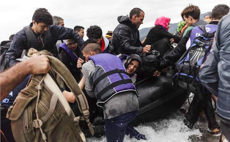Confusión y tragedia en Lesbos con el aumento de llegadas por mar