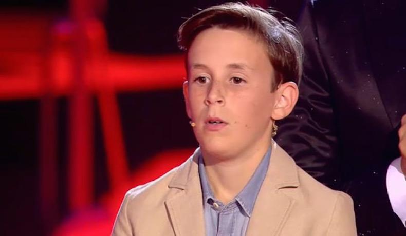 Talento infantil. José María, el niño sevillano de 11 años apadrinado por Manuel Carrasco, gana la final de 'La Voz Kids' y la audiencia se dispara al 31,9%