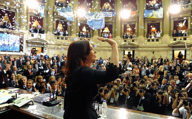 """Cristina Fernández anticipa que su tarea seguirá """"con más fuerza que nunca"""""""