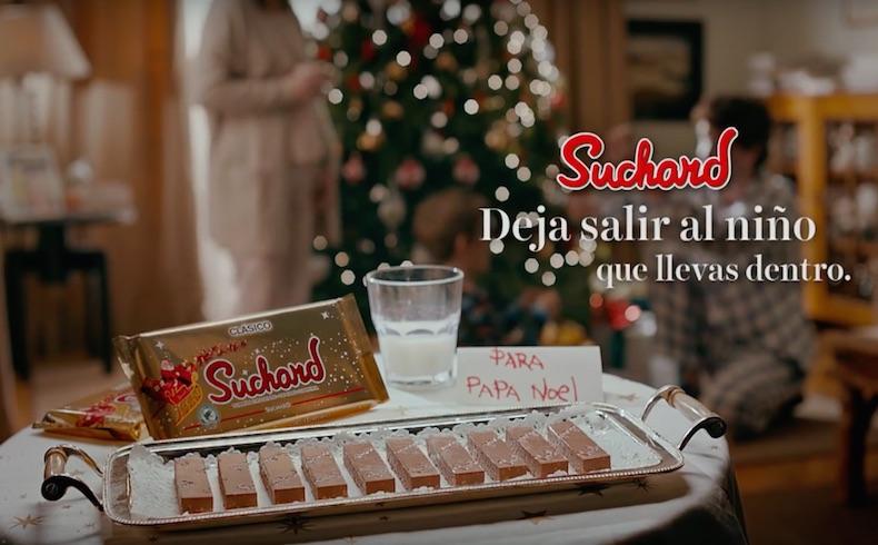 Suchard nos anima a ver la Navidad con la mirada esperanzada y limpia de un niño