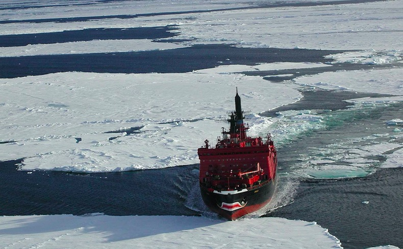 ¿Hacia la militarización del Ártico?