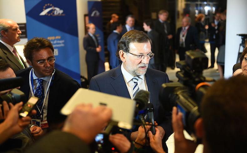 Rajoy marca los tiempos