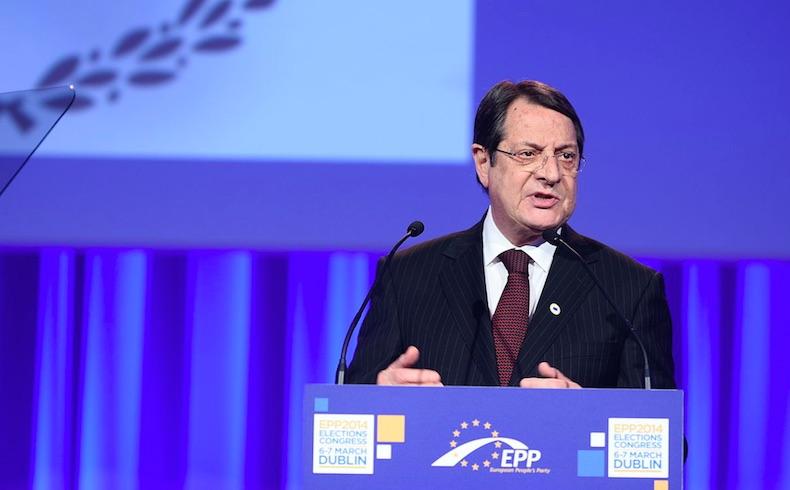 """Anastasiadis: """"Negociaciones chipriotas siguen muy positivas"""""""