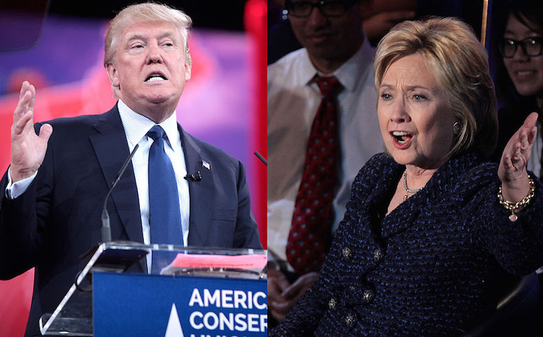Trump y Clinton arrasan en la Florida