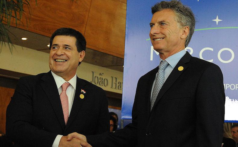 Presidente Cartes en Buenos Aires analizó Mercosur y la deuda de Yaciretá