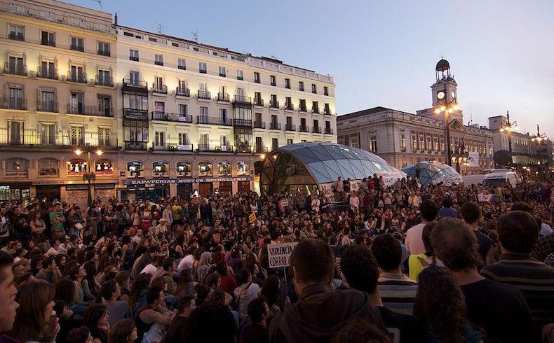 Elevado paro en España