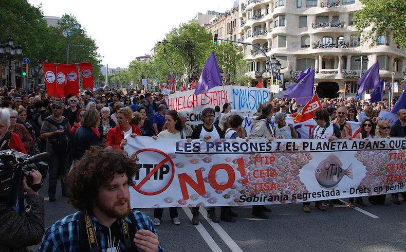 Obama, Merkel y la panacea universal del TTIIP