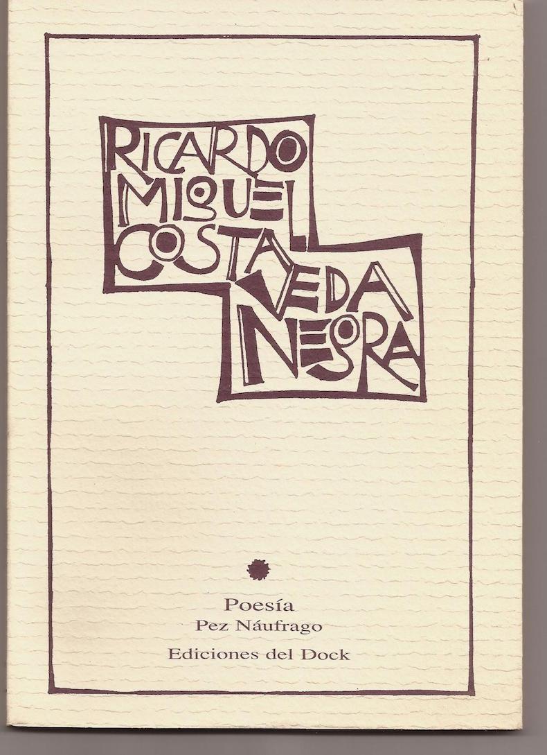 """""""Veda negra"""" (2001; Tercer Premio Concurso Iberoamericano de Poesía Neruda, en Temuco, Chile, 2000)"""