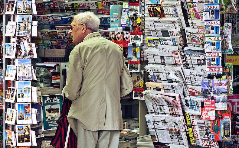 La prensa en papel tiene los días contados…