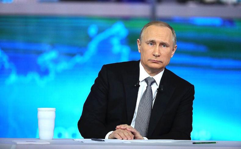 Putin, la estrella rutilante