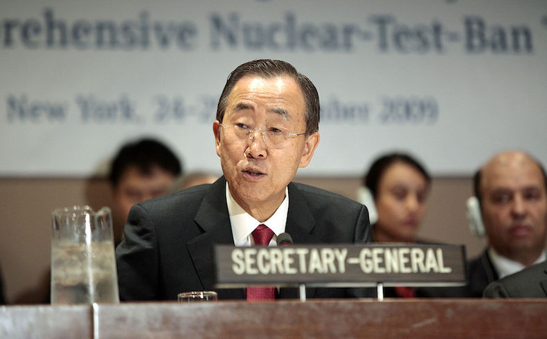 "Ban Ki-moon: ""El tiempo se agota para Siria"""