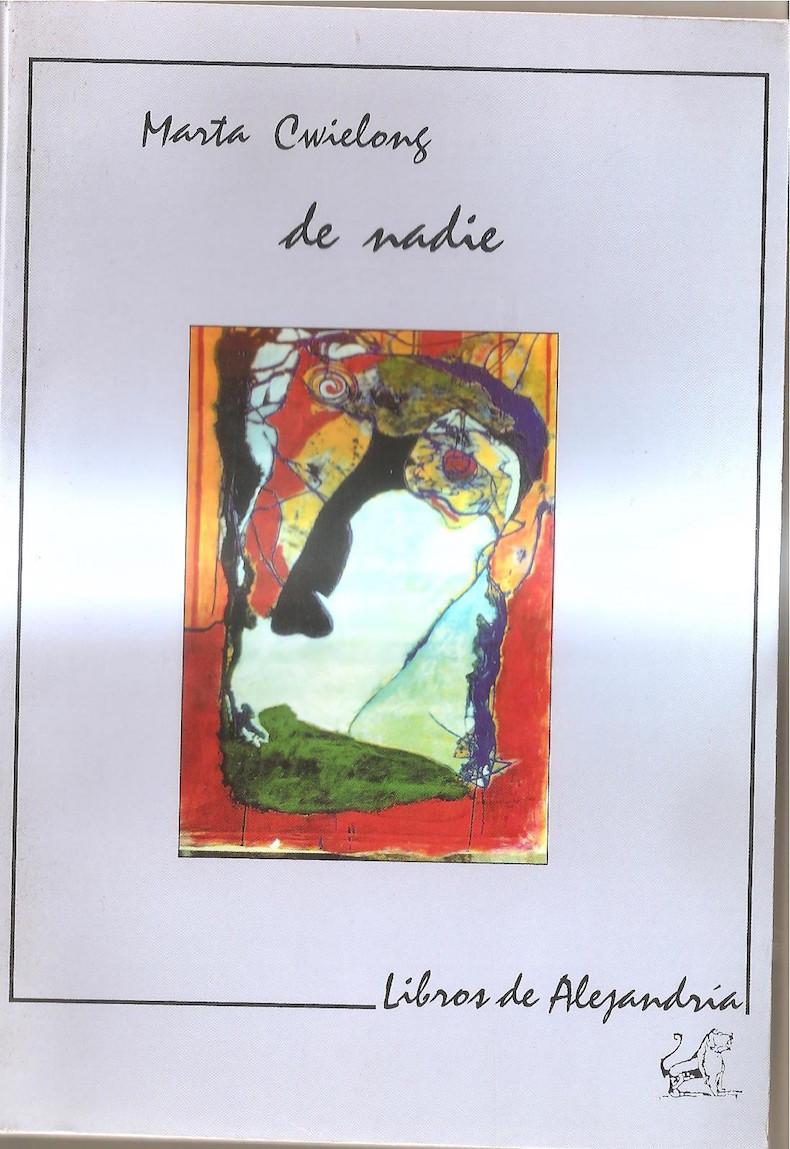 """""""De nadie"""" (Ediciones Libros de Alejandría, 1997)"""